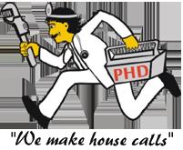 E Dake Plumbing Heating Logo